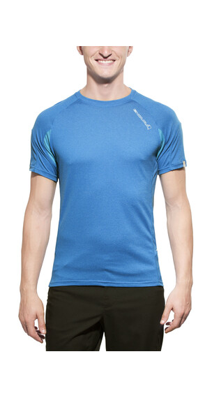 Endura Singletrack Lite Wicking Trikot Herren Ultramarinblau
